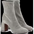 lence59 - Corduroy Boots - Čizme -