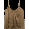 lence59 - Crepe-satin camisole - Tanks -