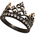 sandra  - Crown ring oasap - Rings -
