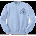 amethystsky - Crybaby Shark Sweatshirt  - Pullovers -