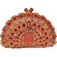 asia12 - Crystal Peacock Clutch Evening Bag - Clutch bags -