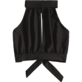 fshionme - Cutout Crop Top  - Majice - kratke - $21.49  ~ 18.46€