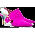 JecaKNS - DARMAKI Pink Holli 70 satin mules - Sandals -