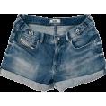 HalfMoonRun - DIESEL denim shorts - Shorts -