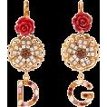 beautifulplace - DOLCE & GABBANA  Crystal-embellished flo - Uhani -