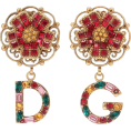 Georgine Dagher - DOLCE & GABBANA Floral clip-on earrings - Earrings -