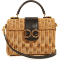 beautifulplace - DOLCE & GABBANA  Logo-embellished natura - Hand bag -