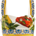 beautifulplace - DOLCE & GABBANA  Majolica and pepper-pri - Tanks -