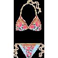 vespagirl - DOLCE & GABBANA Printed triangle bikini - Swimsuit - $445.00