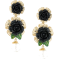 Georgine Dagher - DOLCE & GABBANA floral embellished drop - Earrings -