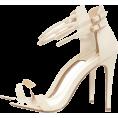 dehti - DOUBLE STRAP SNAKE PRINT HEELS - Sandals -