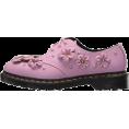 HalfMoonRun - DR MARTENS mauve flowers shoe - Sapatos clássicos -
