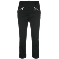 JecaKNS - DSQUARED2 cropped zip trousers - Tajice -