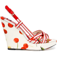 Lady Di ♕ - D&G Cruise Sandals - ウェッジソール -