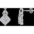 Angara Inc.  - Diamond Love Knot Earrings - Earrings - $2,229.00