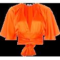 sharee64 - Diane Von Furstenburg cropped top - 半袖シャツ・ブラウス - $298.00  ~ ¥33,539