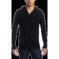 DIESEL Cardigan -  Diesel Men's K-Air Sweater Black