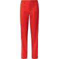 Mees Malanaphy - Dion Lee red wool pants - Capri & Cropped - $575.00