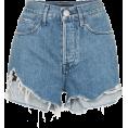 Mees Malanaphy - Distressed denim shorts - Shorts -