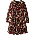 Dolce & Gabbana - Dolce & Gabbana Kids Womens Back To School Floral Long Sleeve Dress (Big Kids) - Dresses - $150.99