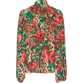 SweetJollyLooks - Dolce Gabana Blouse floral Moda Operandi - Long sleeves shirts -