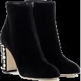 Aurora  - Dolce & Gabbana Black Ankle Boots - Boots -
