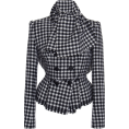 beautifulplace - Dolce & Gabbana Checked Tweed Double-Bre - Chaquetas -