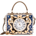 P Sheri - Dolce & Gabbana Enchanted Clock box bag - バッグ クラッチバッグ - $13,000.00  ~ ¥1,463,128