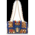 glamoura - Dolce & Gabbana Raffia Shoulder Bag - Hand bag - $2.32