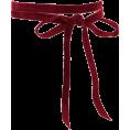 BlueKnight - Double Wrap Velvet Choker - Necklaces -