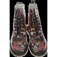 HalfMoonRun - Dr Martens floral boots - Škornji -