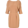 Nuria89  - Drape Wing Tunic Dress - Dresses -