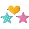 Jay Han - DreamyBows Polka Dot Plastic Clip Set - Other jewelry -