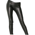 Nikolina Dzo - Leather tights - Leggings -