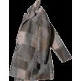 HalfMoonRun - EFUDFJ patchwork jacket - Jacket - coats -