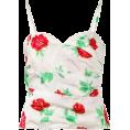 beautifulplace - EMANUEL UNGARO VINTAGE rose print vest t - Shirts -