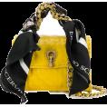 Georgine Dagher - ERMANNO SCERVINO mini scarf embellished - Hand bag -