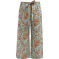 beautifulplace - ETRO  Paisley-print wide-leg cropped sil - Capri & Cropped -