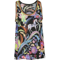 vespagirl - ETRO Printed Tank Top - Tanks - $379.21
