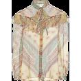 beautifulplace - ETRO Printed silk blouse - Long sleeves shirts -