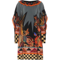 beautifulplace - ETRO Printed silk kaftan - Obleke -