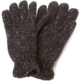 Amazon.com - Echo Design Men's Marled Knit Glove with Fleece Lining Black - Gloves - $15.18