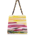 glamoura - Edie Parker Hardbody Abstract Sunset Acr - Clutch bags -