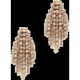 dehti - Elizabeth Cole Women's Crystal Fringe Wa - Earrings -
