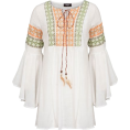 lence59 - Embroidered Blouse - Tunike -