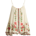 lence59 - Embroidered top - Tanks -