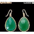 Bev Martin - Emerald Green Earrings - Naušnice -