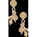 beautifulplace - Ettika Shell & Coral Earring im Gold | R - Earrings -