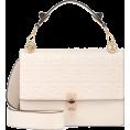 beautifulplace - FENDI Kan I Medium leather shoulder bag - Hand bag -