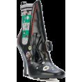 Georgine Dagher - FENDI enkellaarzen met gesp - Boots -